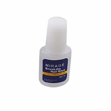 Dingji 10g False Glue Nail Art Decoration with Brush False Nail Gel 1 Pcs