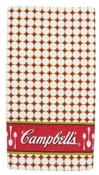 Golden Rabbit Campbell's Soup 20' square Dinner Napkin ~ Set of 4