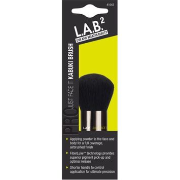 Pacific World Corporation L.A.B.2 Live and Breathe Beauty Just Face It Kabuki Brush
