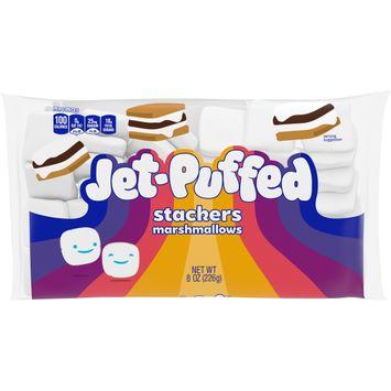Jet-Puffed StackerMallows Marshmallows, 8 oz Bag
