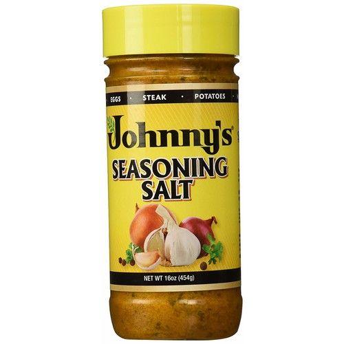 Johnny's Seasoning Salt, Chef Blended, 16 oz (3)