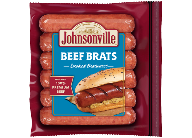 Johnsonville Smoked Beef Brats Links