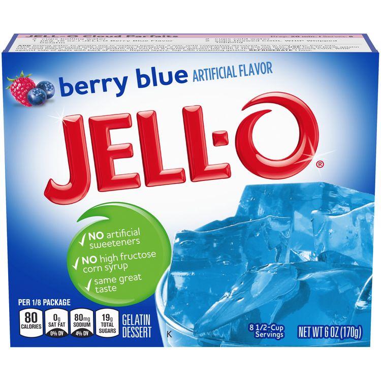 Jell-O Berry Blue Instant Gelatin Mix