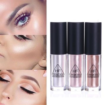 NICOLE DIARY 1Pc Glow Shimmer Liquid Highlighter Moisture Shine Makeup Face Eye Contour Brightener Concealer #02