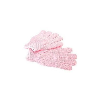 Exfoliating Shower Gloves Blue (1 Pair)