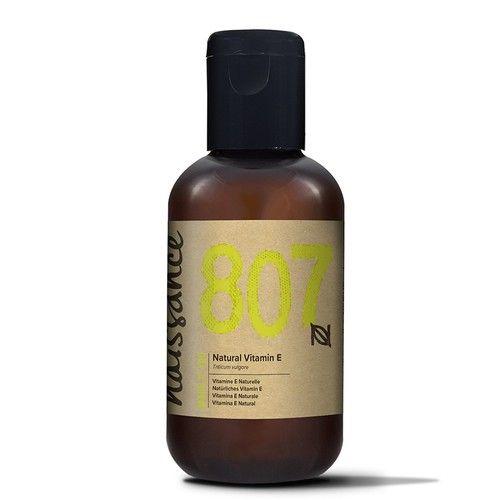 Naissance Vitamin E Oil 3.4 fl. oz.- Pure, Natural, Vegan, Cruelty Free, Hexane Free, No GMO - Moisturizing & Rejuvenating - Ideal for Aromatherapy, Skincare, Haircare, Nailcare and DIY Beauty Recipes