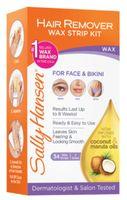 Sally Hansen Hair Remover Wax Strip Kit (face & Bikini)