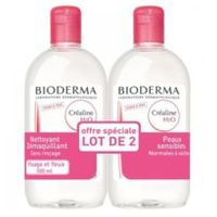 Créaline H2O - Solution Micellaire Lot de 2 x 500ml