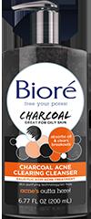 Bioré®  Charcoal Acne Cleanser