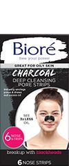Bioré®  Charcoal Nose Strips