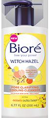 Bioré®  Witch Hazel Pore Clarifying Cooling Cleanser