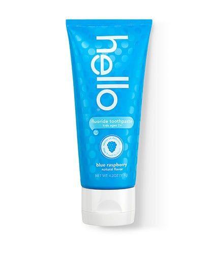 Hello Product Kids Toothpaste Blue Raspberry
