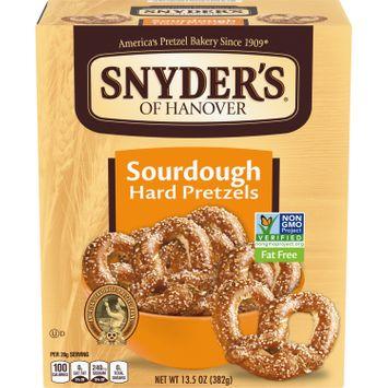 Snyder's of Hanover Pretzels, Sourdough Hard Pretzels, 13.5 Oz