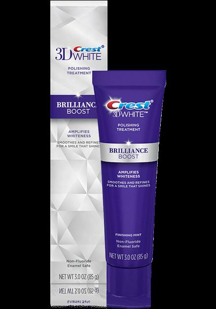 Crest 3D White Brilliance Boost Polishing Treatment