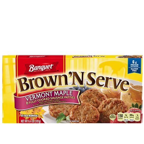 Banquet Brown'N Serve Sausage Patties