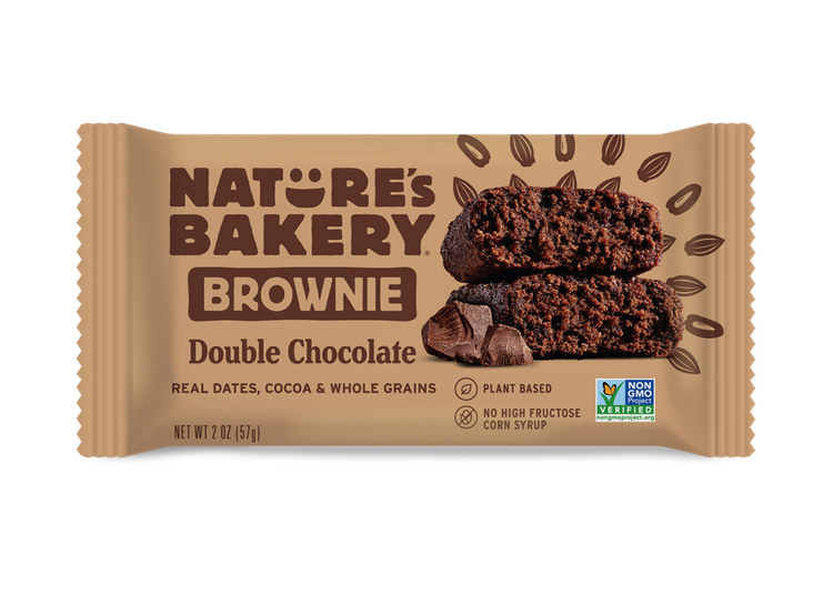Nature's Bakery Brownie Bars Double Chocolate