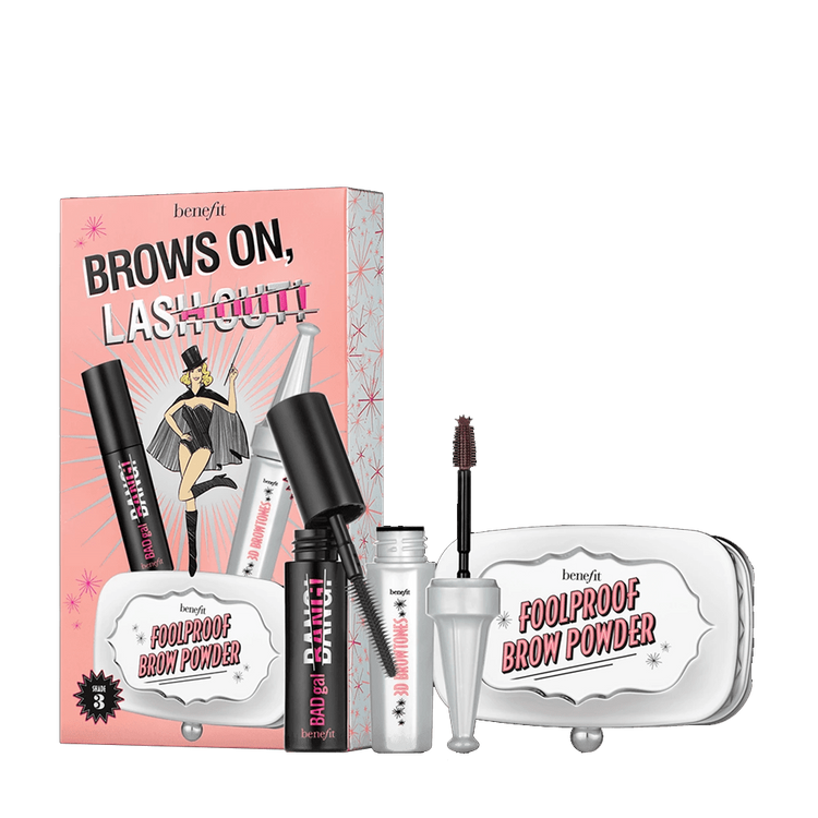 Benefit Cosmetics BROWS on, LASH out!
