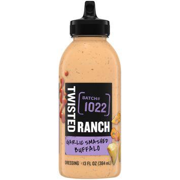 Twisted Ranch Garlic Rubbed Buffalo Ranch Dressing & Dip, 13 oz Bottle