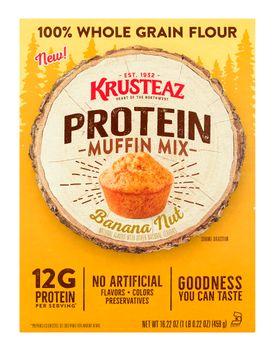 Krusteaz Protein Muffin Mix Banana Nut