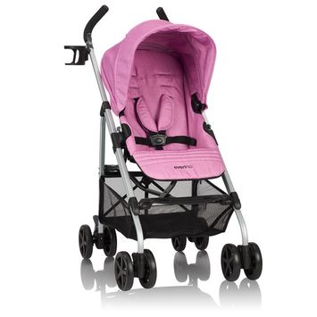 Evenflo Urbini Reversi Lightweight Stroller, Pinkberry Fizz [name: actual_color value: actual_color-pink]