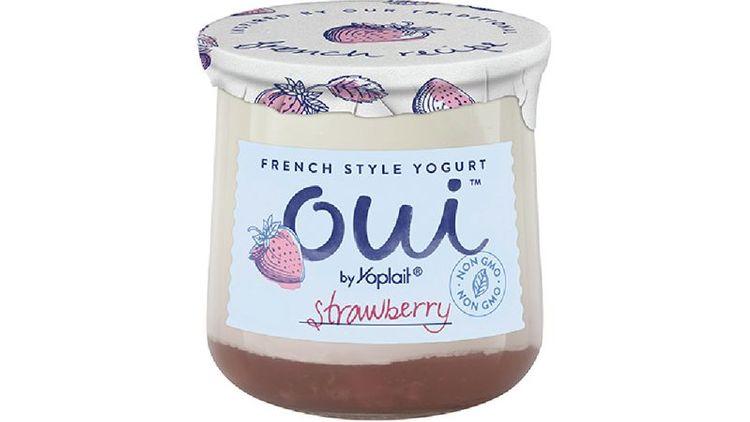 Oui™ by Yoplait® Yogurt Single Serve Cup Strawberry 5 oz