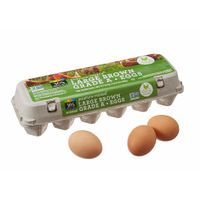 365 Everyday Value, Pasture Raised Large Brown Grade A Eggs, 12 ct
