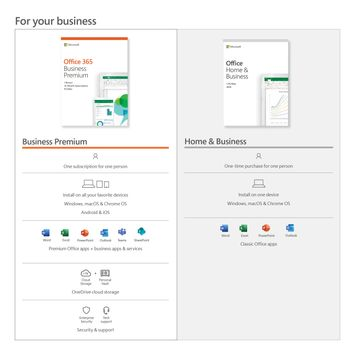 Microsoft® Office Home & Business 2019