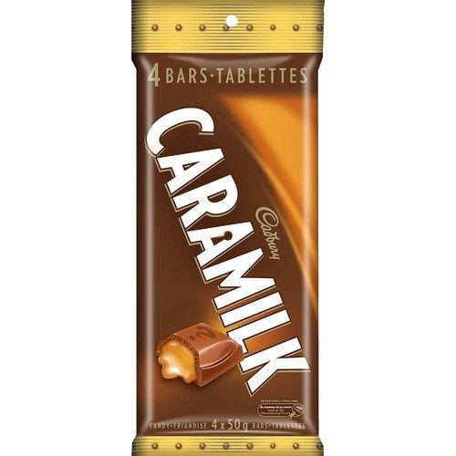 Cadbury Caramilk Candy, 4 Count 200g/7.05oz (Imported from Canada)