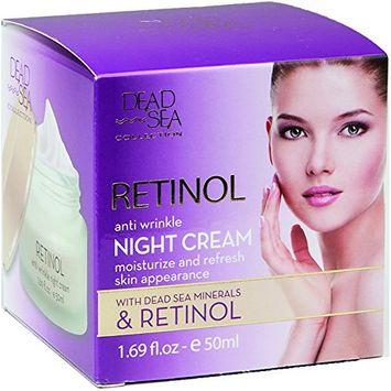 Dead Sea Collection Retinol Anti Wrinkle Night Cream with Dead Sea Minerals