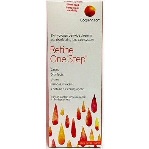 Refine One Step - Hydrogen Peroxide Solution [12 Fl. Oz]