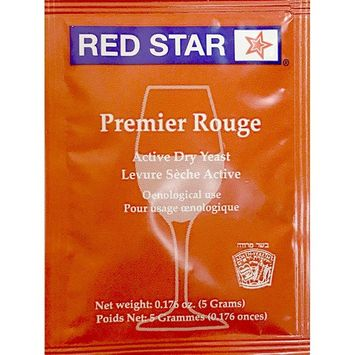 Red Star Premier Rouge (Formerly Pasteur Red) 100 Packs Wine Yeast