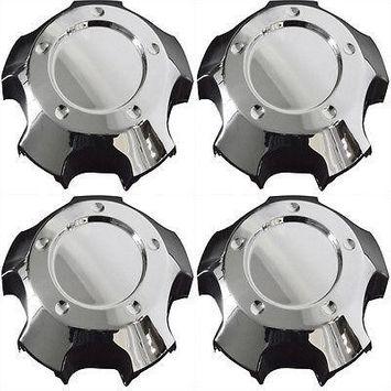 Istiloshoppe Car Accessories 4pc Set Toyota Landcruiser Center Caps Wheels Rims Pop In Skin Hub Cover