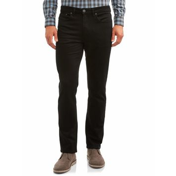 George - George Men's Premium 5 Pocket Twill Pants [name: actual_color value: actual_color-blacksoot]