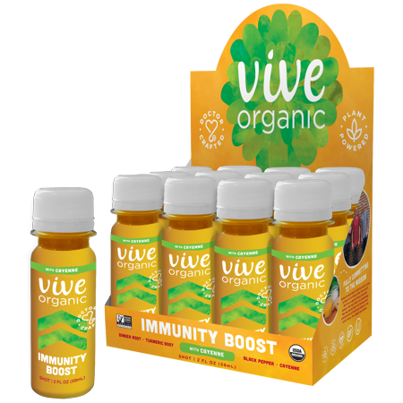 Vive Organic Immunity Boost Cayenne Wellness Shot - 2 fl oz