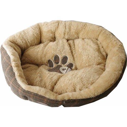 Pet Brands Tweedy Sofa Dog Bed, Large