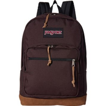 JanSport - JanSport Right Pack [name: actual_color value: actual_color-coffeebean]