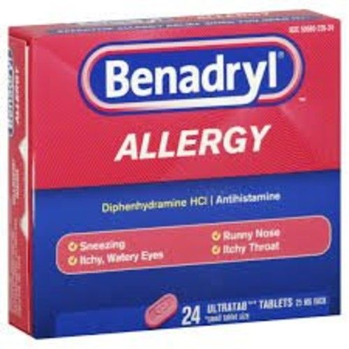 Benadryl Ultra Tablets 24-Count (Pack of 3)