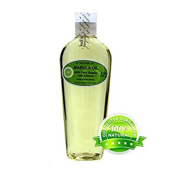 Dr. Adorable - 100% Pure Marula Seed Oil Organic Cold Pressed Natural Hair Skin Care Anti Aging - 8 oz