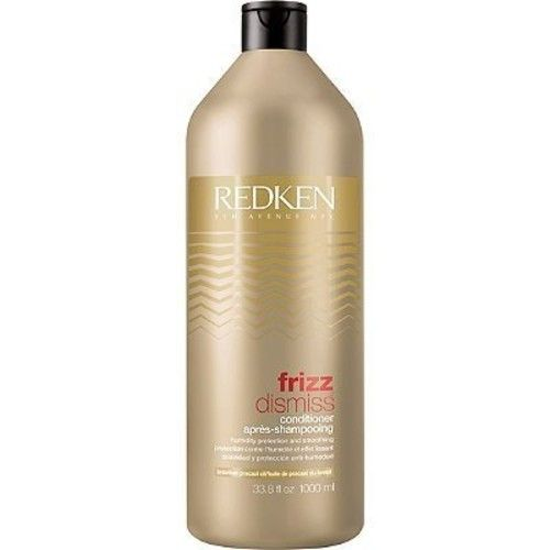 Redken Frizz dismiss conditioner for protection and smoothing, 33.8 Ounce