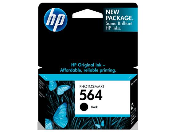 HP HP 564 Black Original Ink Cartridge, CB316WN#140