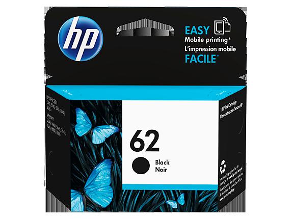 HP HP 62 Black Original Ink Cartridge, C2P04AN#140