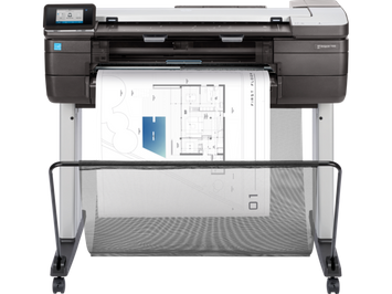 HP DesignJet T830 Large Format Multifunction Wireless Plotter Printer - 24