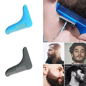 Toyofmine Beard Styling and Shaping Template Comb BigBro Tool for Men Perfect Lines Symmetry