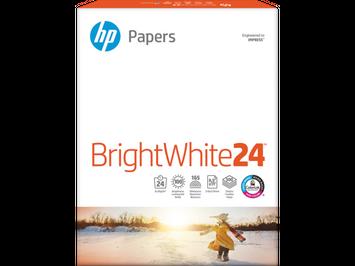 HP Bright White Inkjet Paper-500 sht/Letter/8.5 x 11 in, HPB1124P