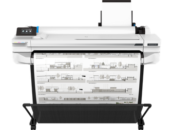 HP DesignJet T525 Large Format Wireless Plotter Printer - 36