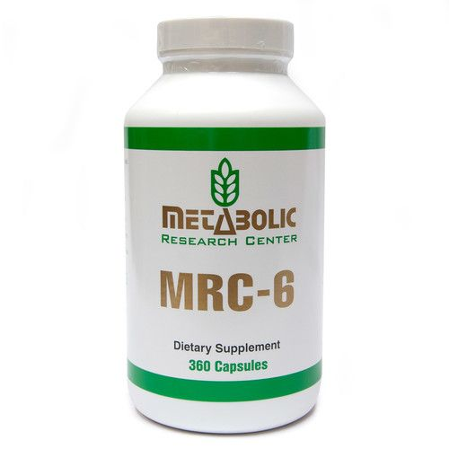 Metabolic Research Center MRC-6 - Weight Loss Dietary Supplement, 360 Count