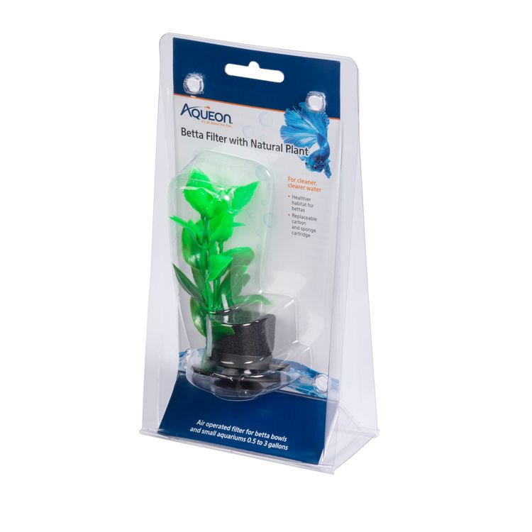 Aqueon Betta Filters Natural Plant One Size