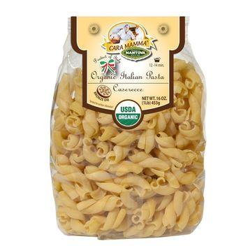 Mantova Pasta Casarecce Organic, 16 Ounce (Pack of 6)