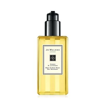 in Box Jo Malone London Amber & Lavender Body and Hand Wash/Shower Gel 8.5 oz [Amber & Lavender]