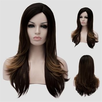 Women Wig Hair,CoastaCloud High Quality Fashion Glamour Hairpiece,Party Cosplay Long Straight Hair Wig for Women Girl,23 Inch